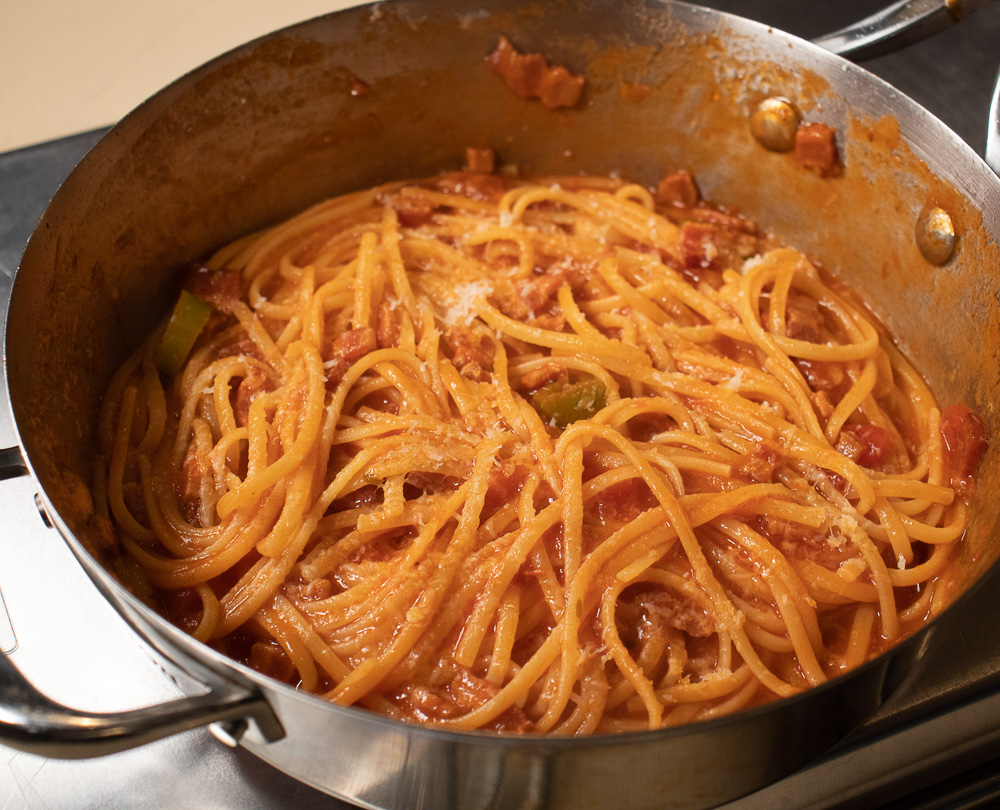 Pasta all'Amatriciana Recipe